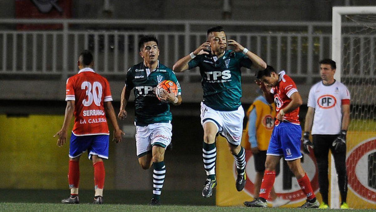 En un partido apasionante Wanderers y La Calera repartieron puntos