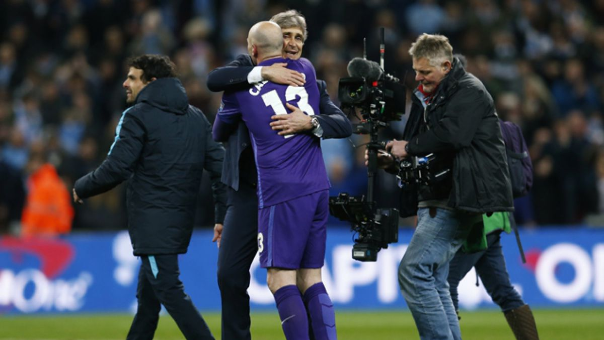 "Willy Caballero: ""A Manuel Pellegrini le debo mucho"""