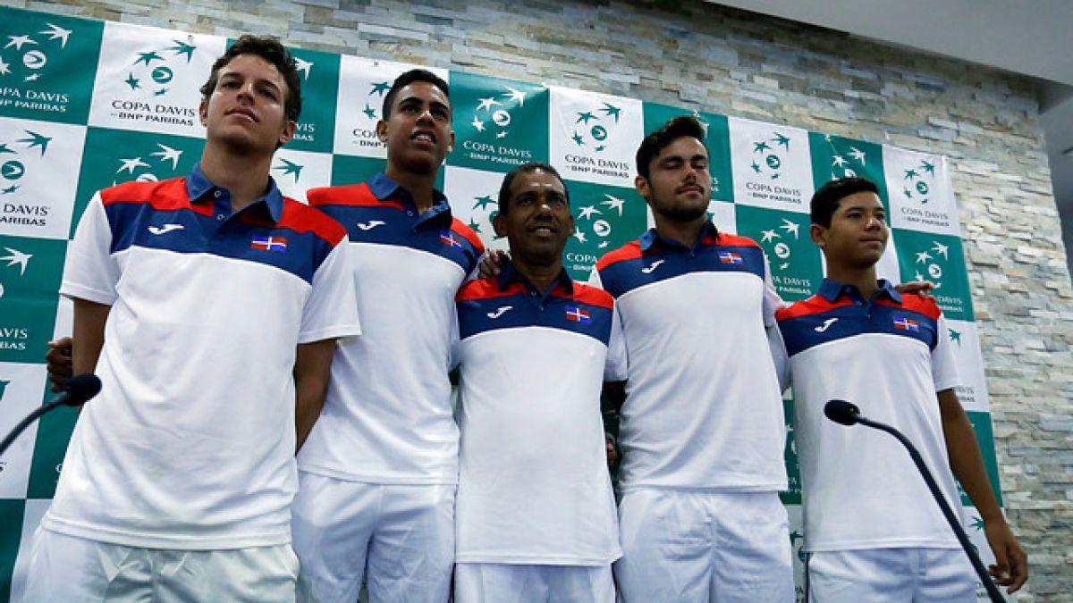 Copa Davis: República Dominicana adelanta que se enfrentan a un Chile con mucha confianza