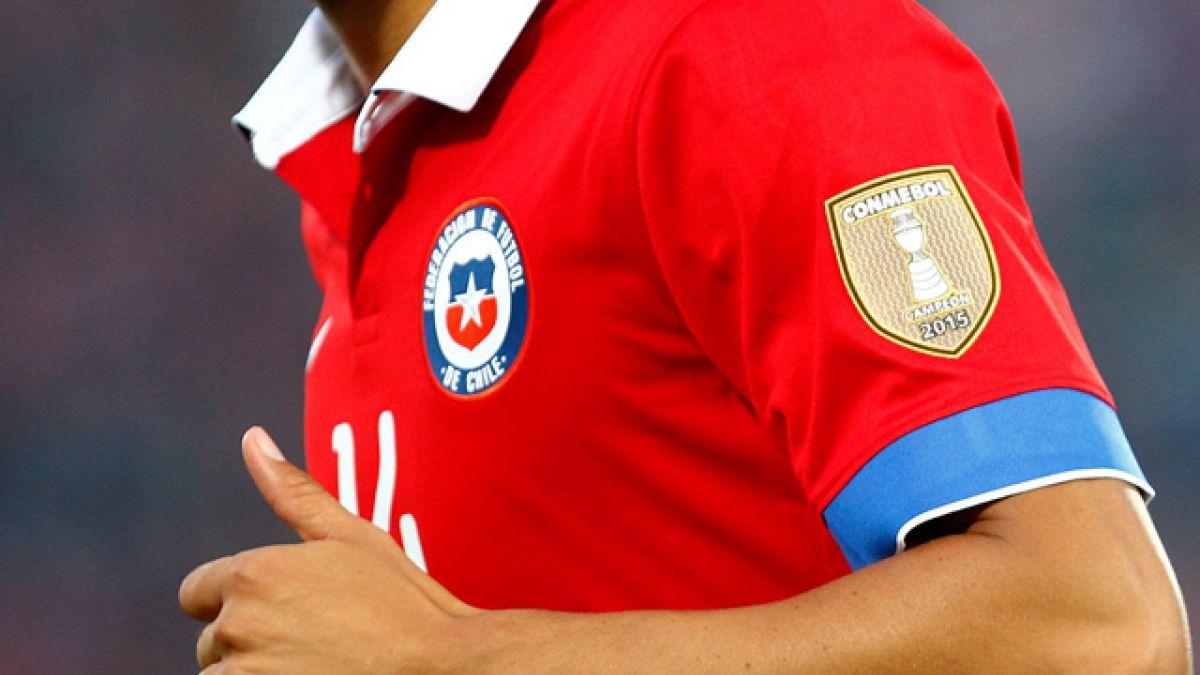 FOTOS  ¿Será esta la nueva camiseta de Chile para la Copa América  Centenario 8118da84164f3