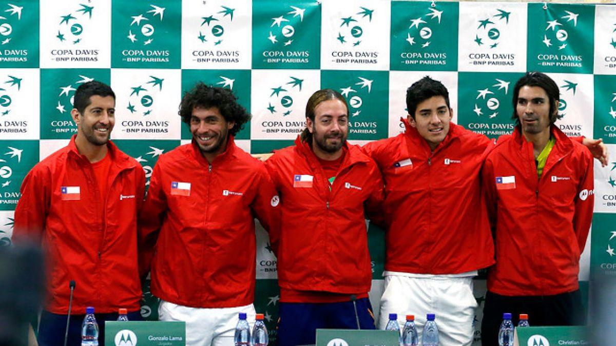 """Massú se refiere al favoritismo en duelo por Copa Davis y apunta: """"No queremos sorpresas"""""""