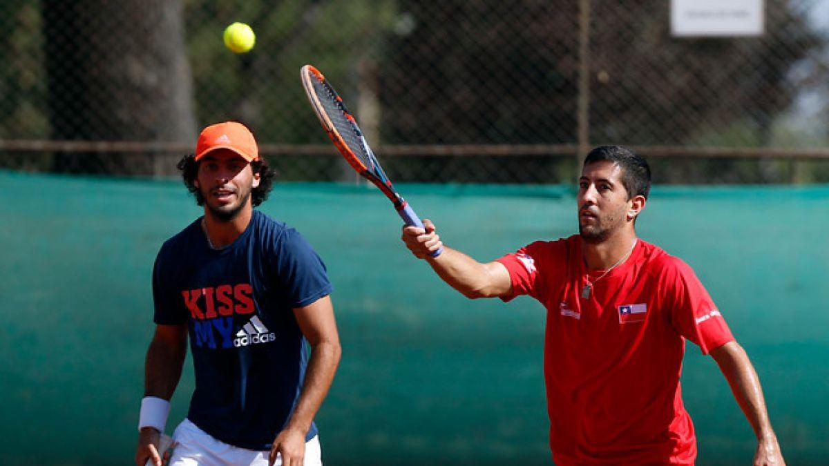 Copa Davis: Chile enfrenta a República Dominicana buscando acercarse al Grupo Mundial