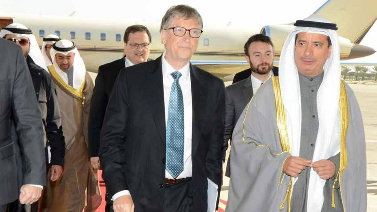 Bill Gates es el hombre más rico del mundo