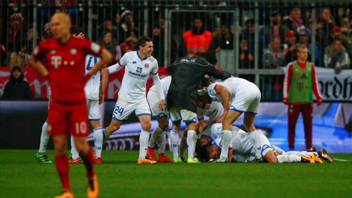 Sorpresa total: Bayern Munich con Arturo Vidal pierde en casa por la Bundesliga