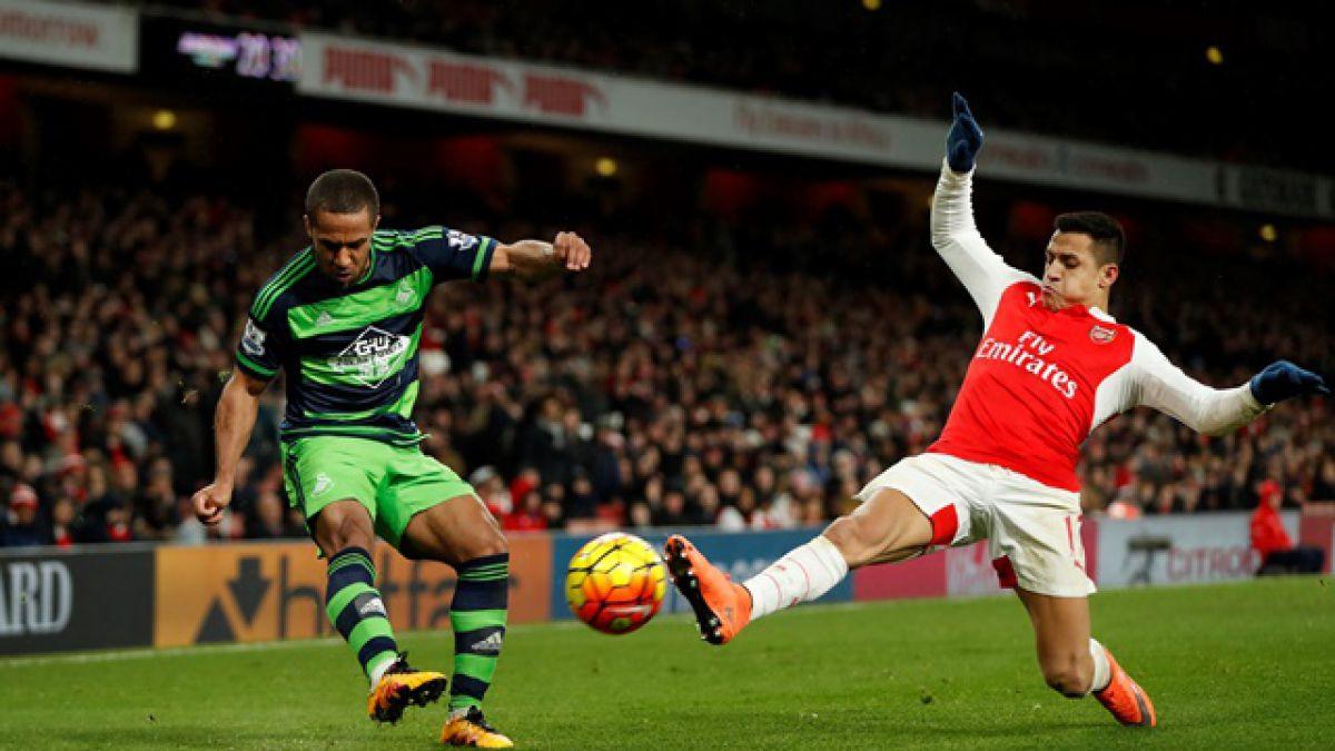 [Minuto a Minuto] Arsenal de Alexis Sánchez cae en casa con Swansea