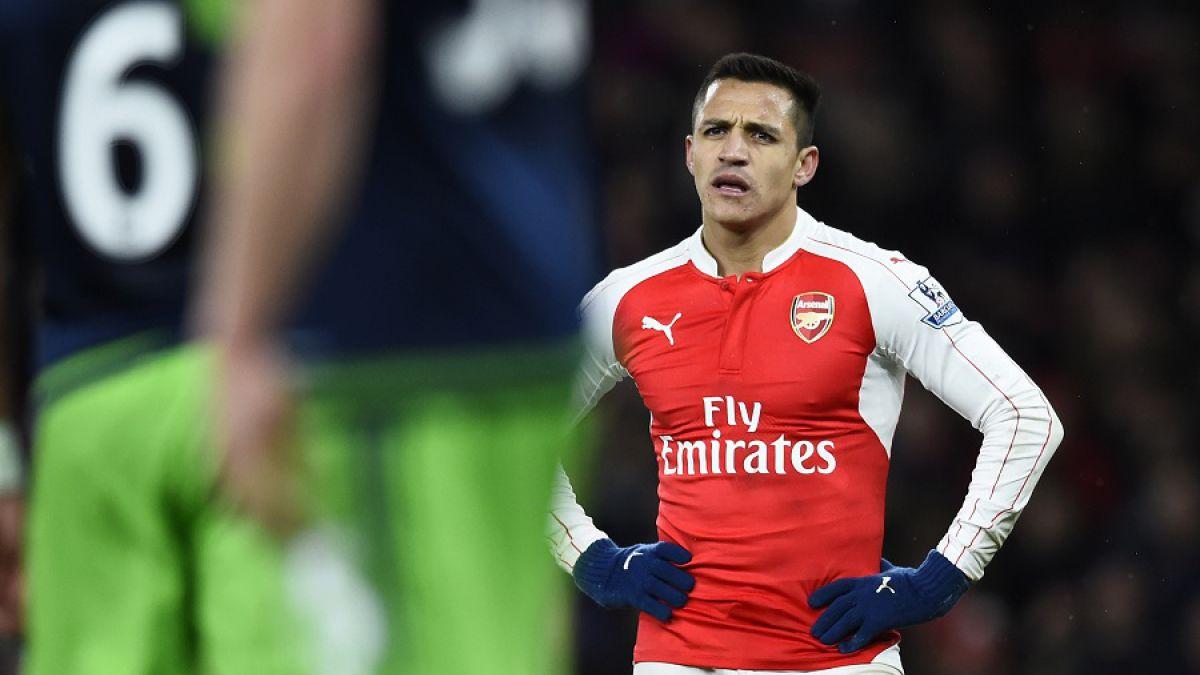 Arsenal decepciona con Alexis: cae en casa y se aleja de chances de luchar por el título