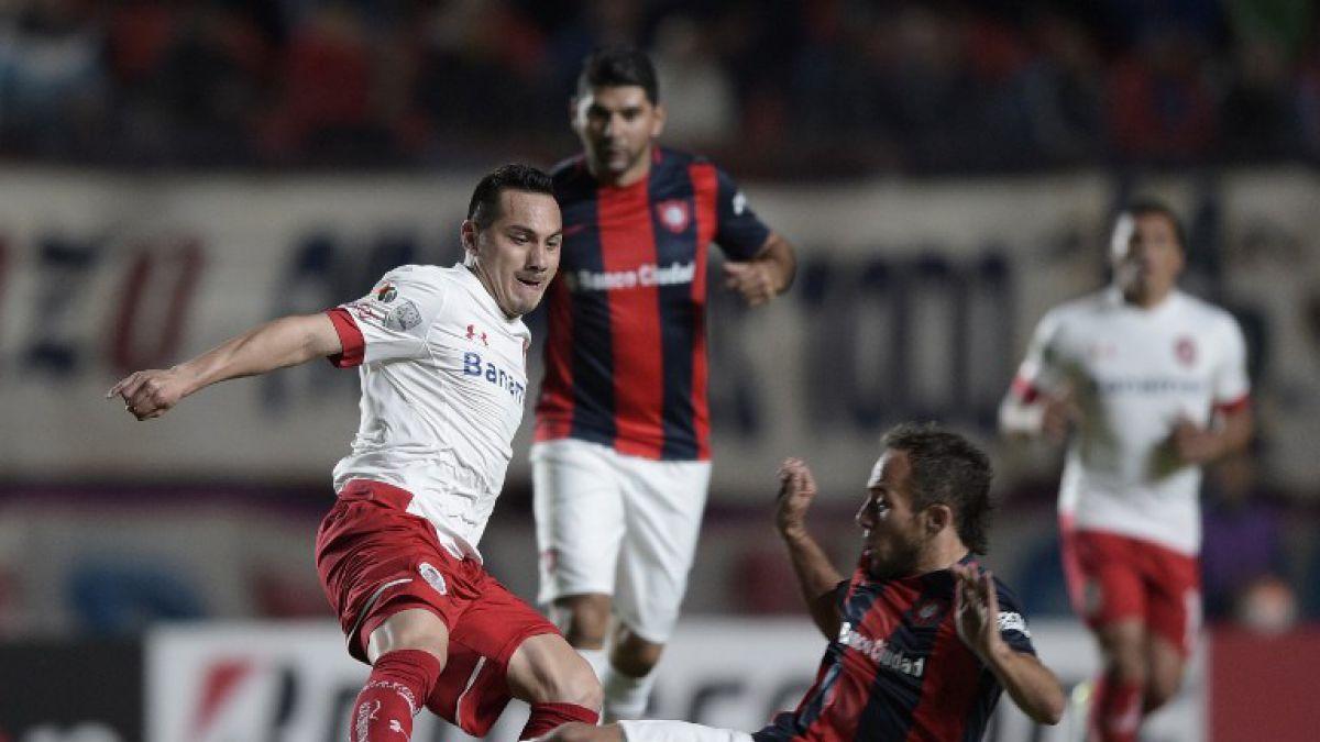 Paulo Díaz fue titular en empate de San Lorenzo en casa por Copa Libertadores