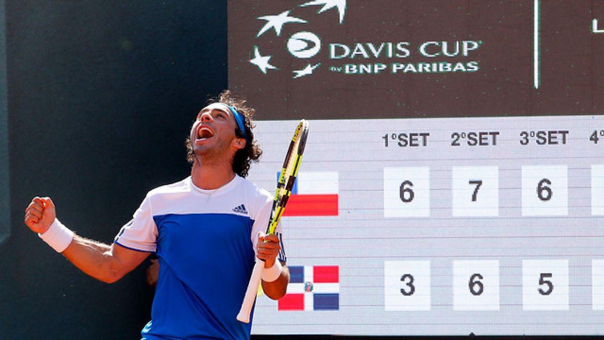 Gonzalo Lama es el nuevo tenista número uno de Chile y logra el mejor ranking de su carrera