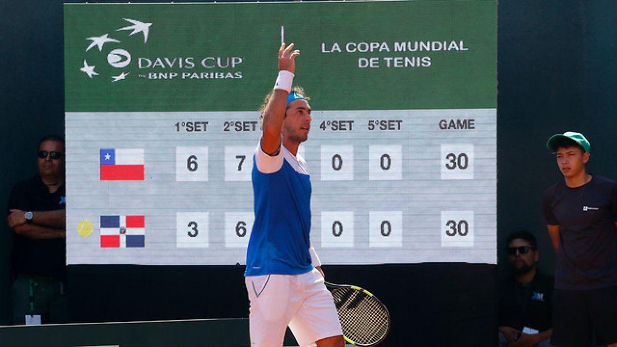 Lama triunfa y deja la serie 2-0 para Chile ante República Dominicana en Copa Davis