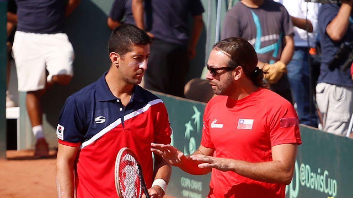 """Massú no se confía: """"He vivido muchas Copa Davis y no queremos una sorpresa en el dobles"""""""
