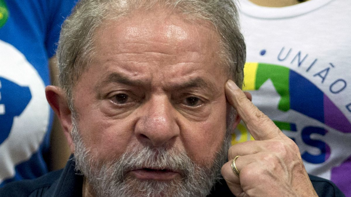 Resultado de imagen para Lula da Silva, primer presidente preso en brasil por corrupción
