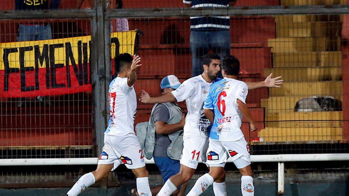 Antofagasta vence a Unión La Calera en duelo clave por zafar del descenso