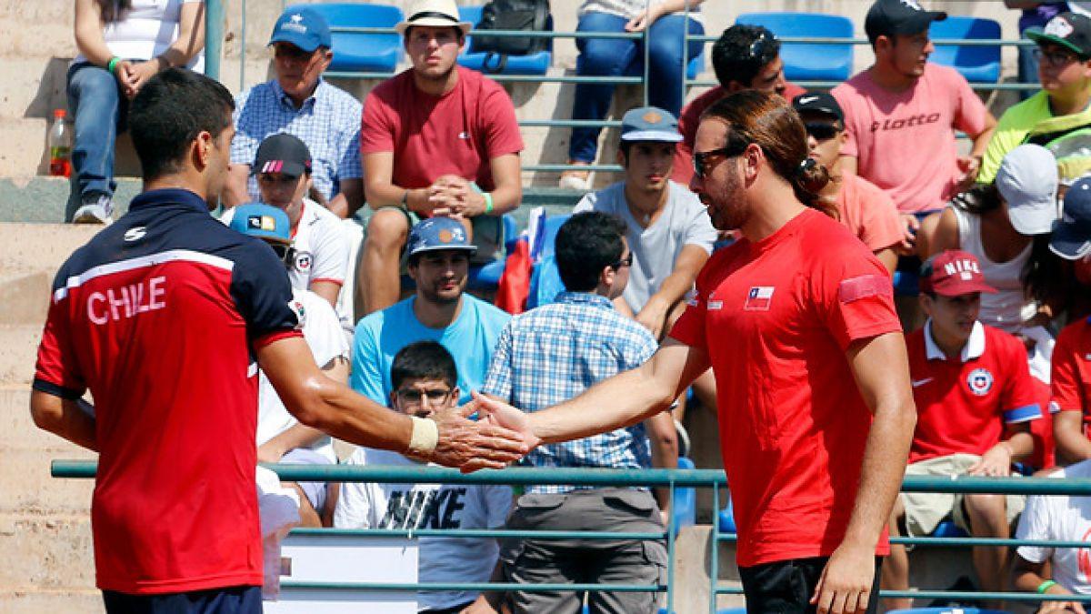 Chile busca triunfar en dobles para cerrar la serie ante República Dominicana en Copa Davis