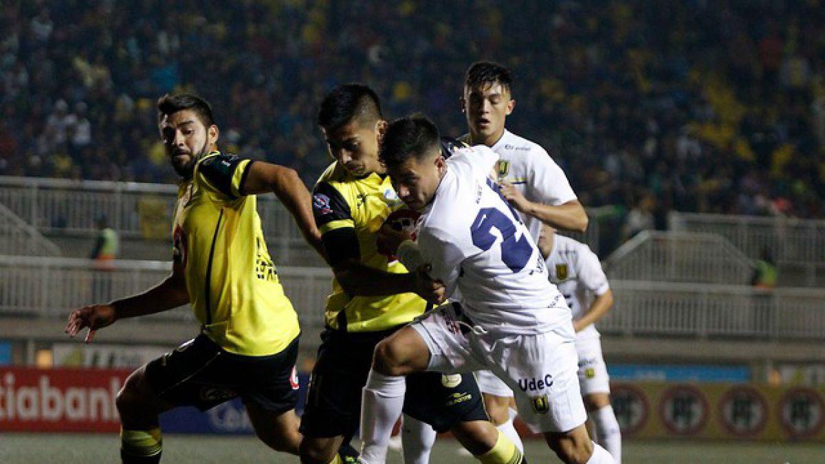 San Luis empata en casa ante la U. de Concepción y se complica con el descenso