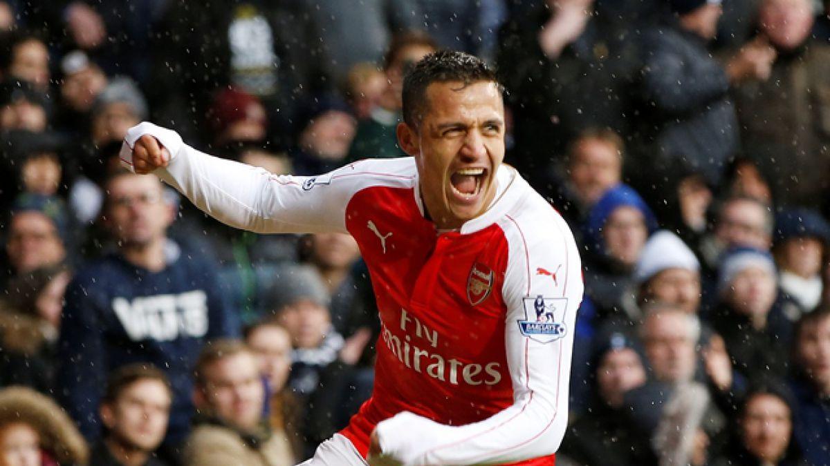 Clásico de Londres: Arsenal rescata un punto ante el Tottenham con gol de Alexis