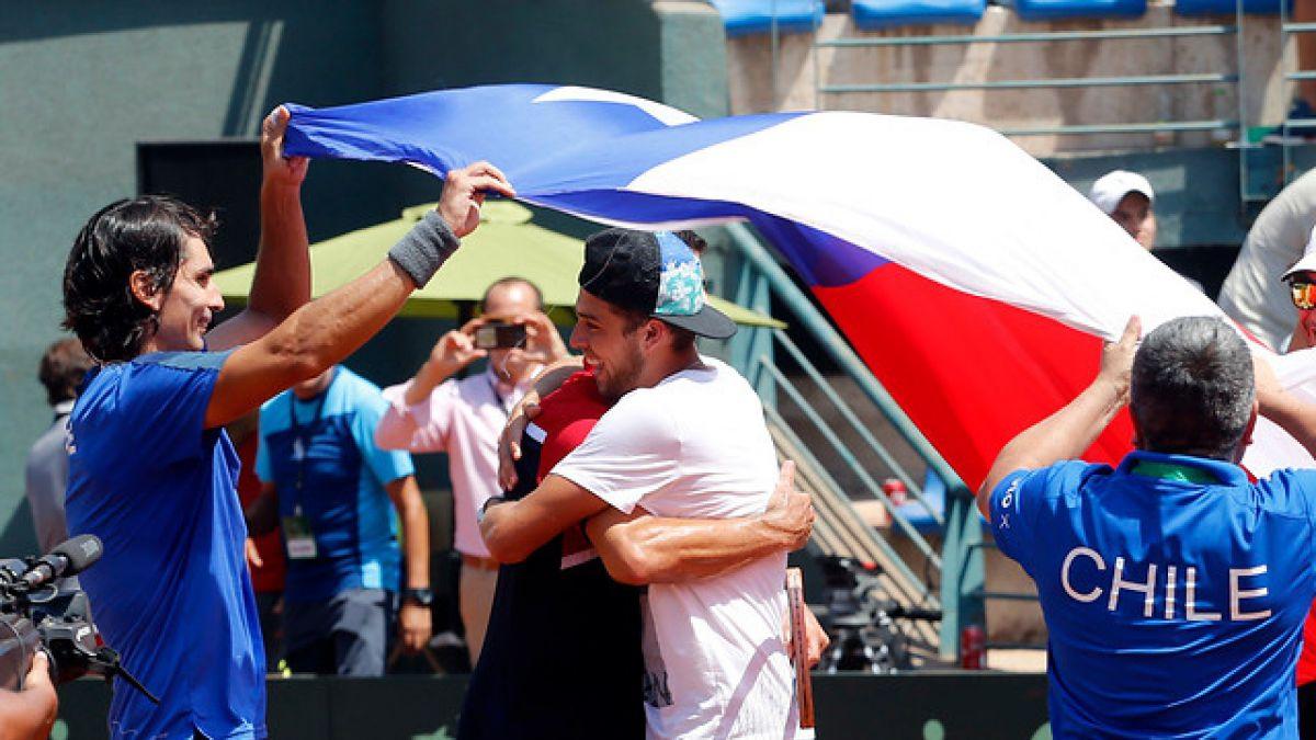 Chile vence en dobles y cierra la serie por 3-0 ante República Dominicana en Copa Davis