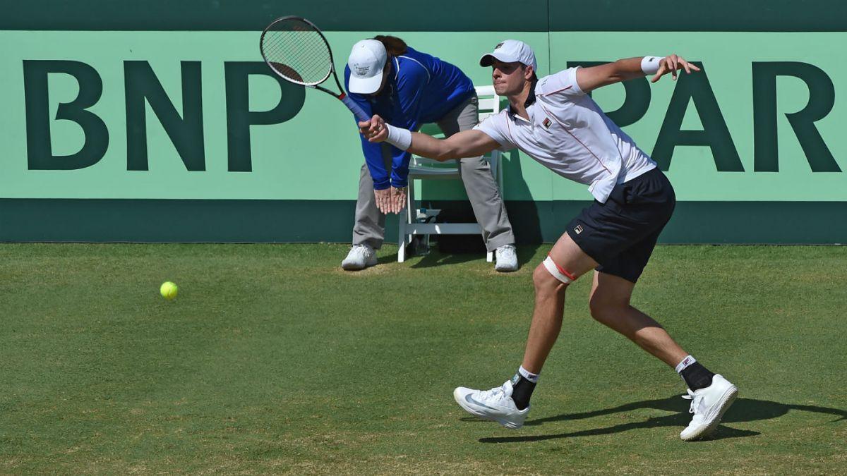 Estados Unidos se impone a Australia en Copa Davis