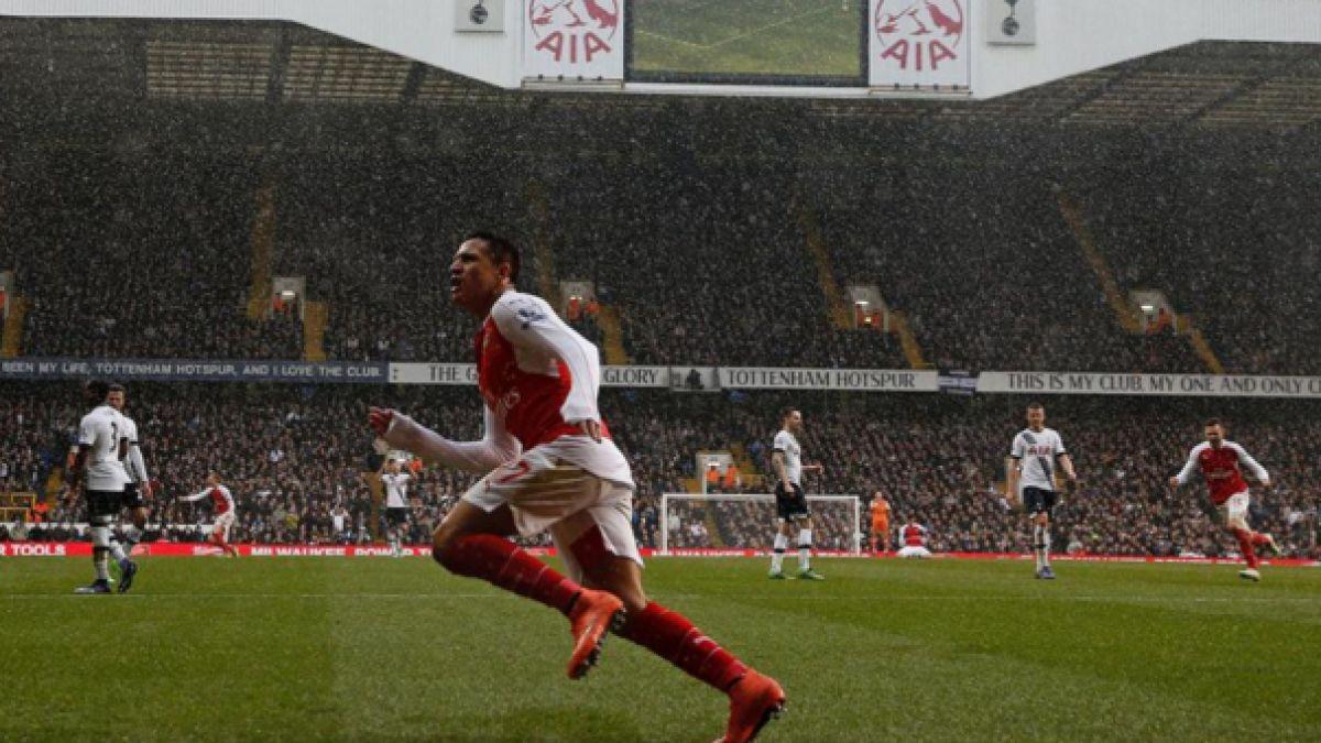 """Prensa inglesa apunta que Alexis Sánchez fue """"al rescate"""" del Arsenal"""