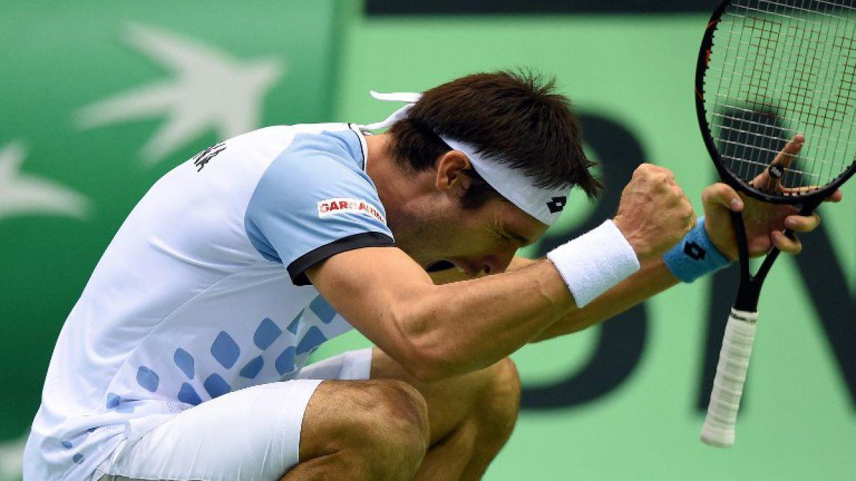 Argentina vence Polonia y alcanza los cuartos de final de Copa Davis