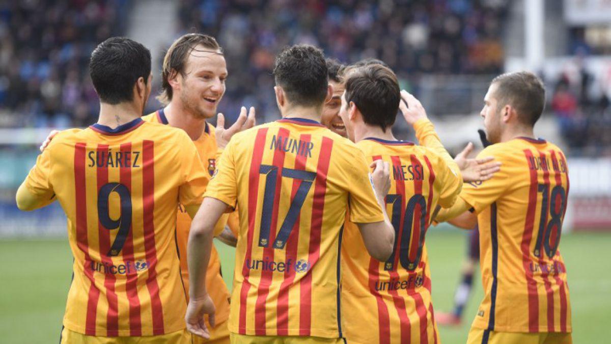 Claudio Bravo sigue festejando: Barcelona golea a Eibar con doblete de Messi