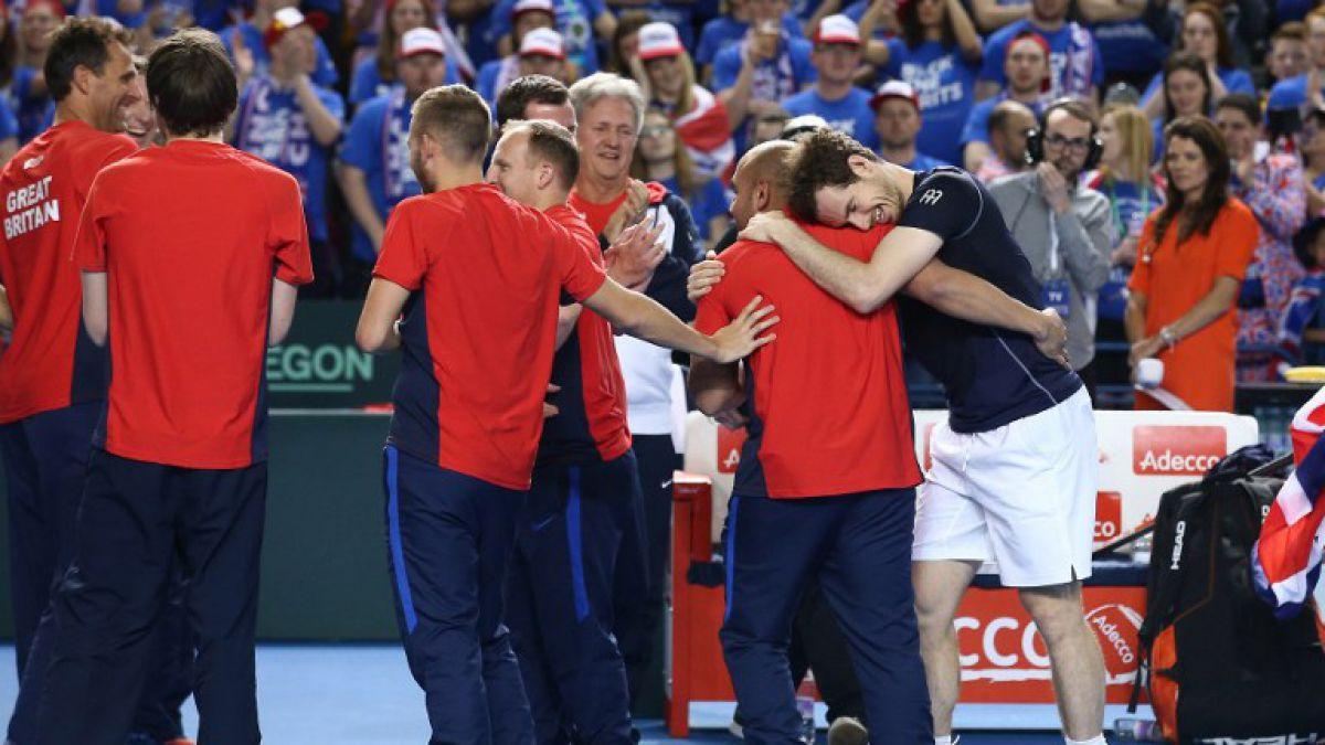 Murray gana a Nishikori y clasifica a Gran Bretaña para cuartos de Copa Davis