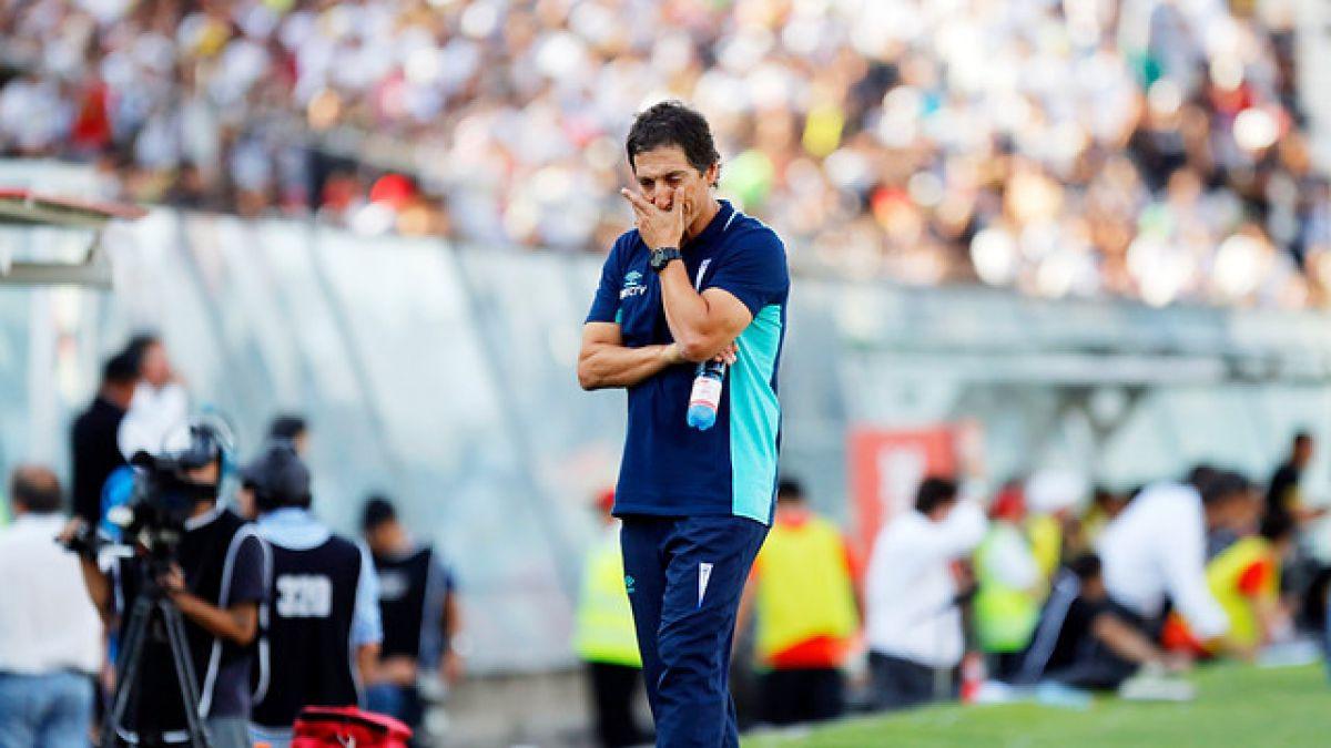 """Mario Salas asume superioridad de Colo Colo y destaca que la UC """"no estuvo a la altura"""""""