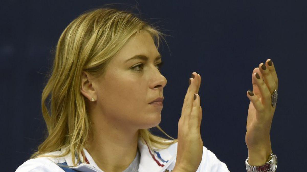 Tenista Maria Sharapova convoca a conferencia para dar anuncio importante