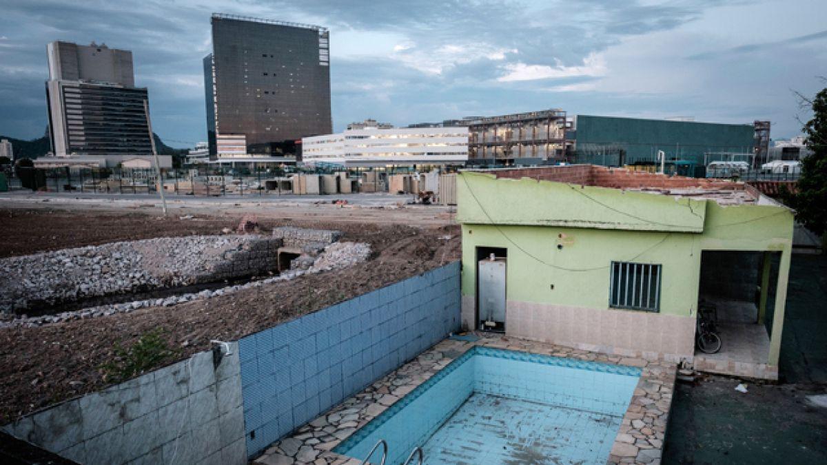 La lucha de la última vecina del parque olímpico de Río de Janeiro