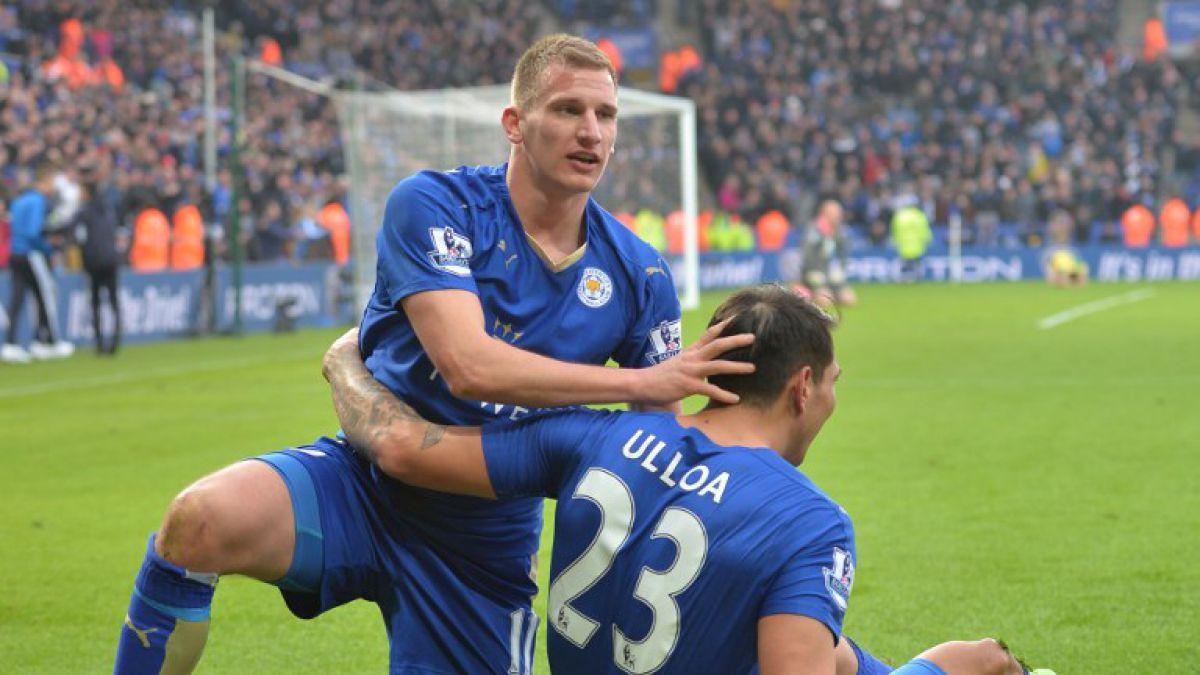 Increíble: agónico gol de Ulloa genera pequeño sismo en el estadio del Leicester