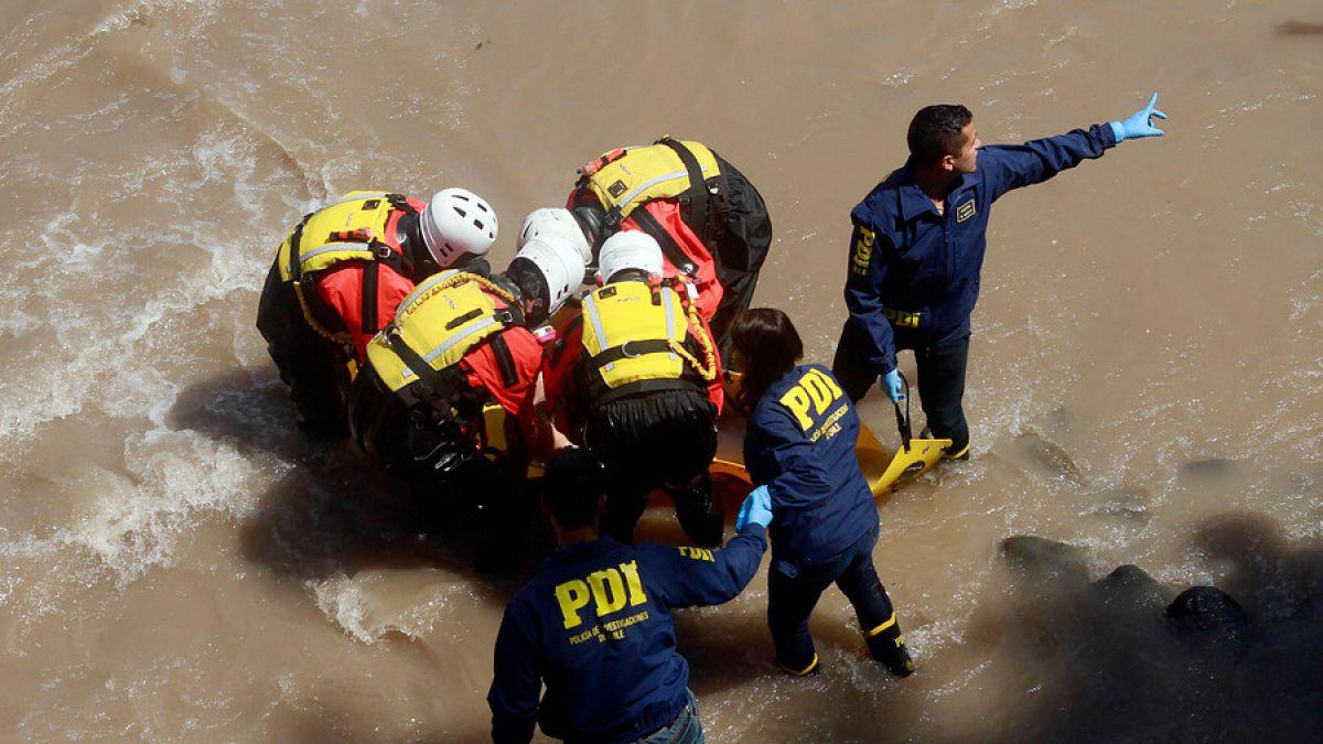 PDI encuentra en Río Mapocho nuevos restos de mujer ...