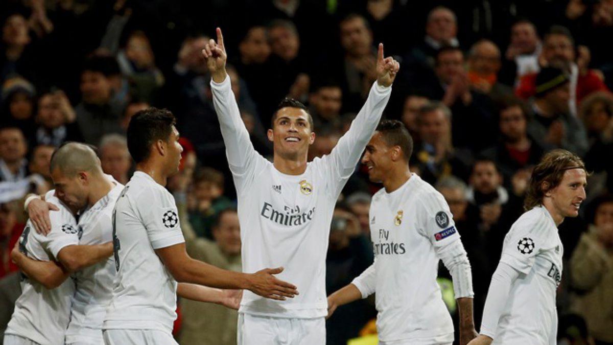 Real Madrid vence a la Roma y avanza a la siguiente ronda de la Champions League