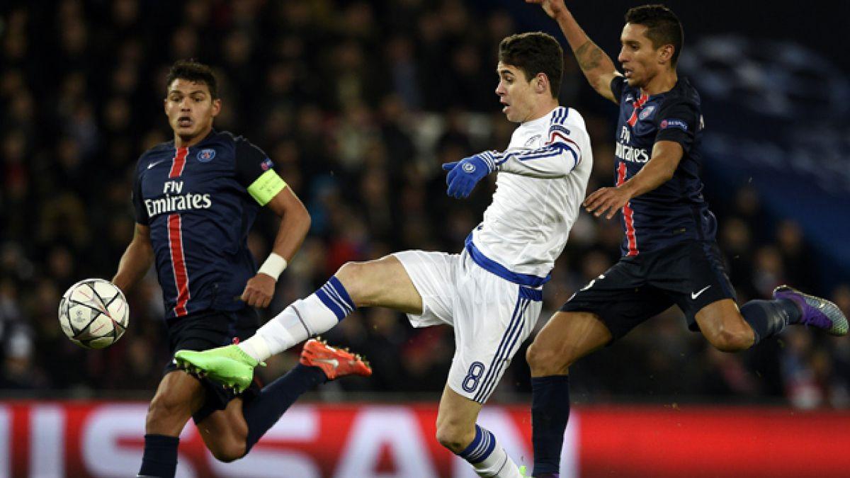 Chelsea y PSG buscan meterse en los cuartos de la Champions League