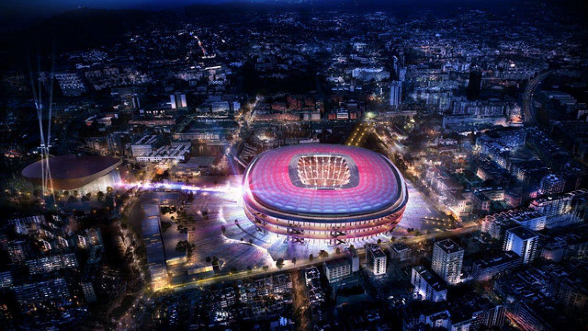 Barcelona revela cómo será el nuevo estadio Camp Nou