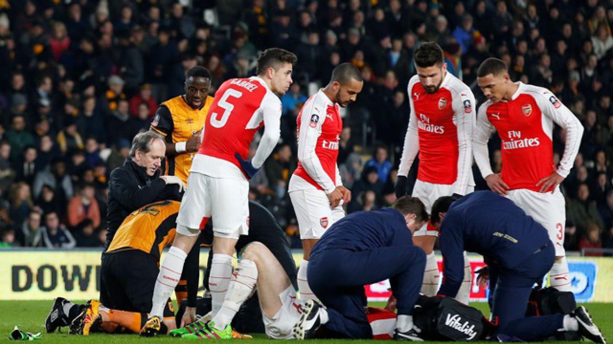Las lesiones complican al Arsenal de cara al duelo con el Barcelona por Champions