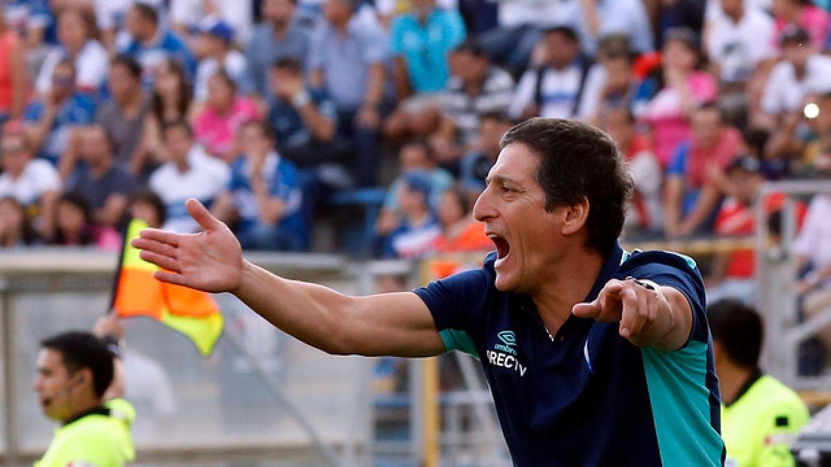 """Mario Salas y su arenga: """"Vamos seguir luchando por el título, lo de Colo Colo ya pasó"""""""
