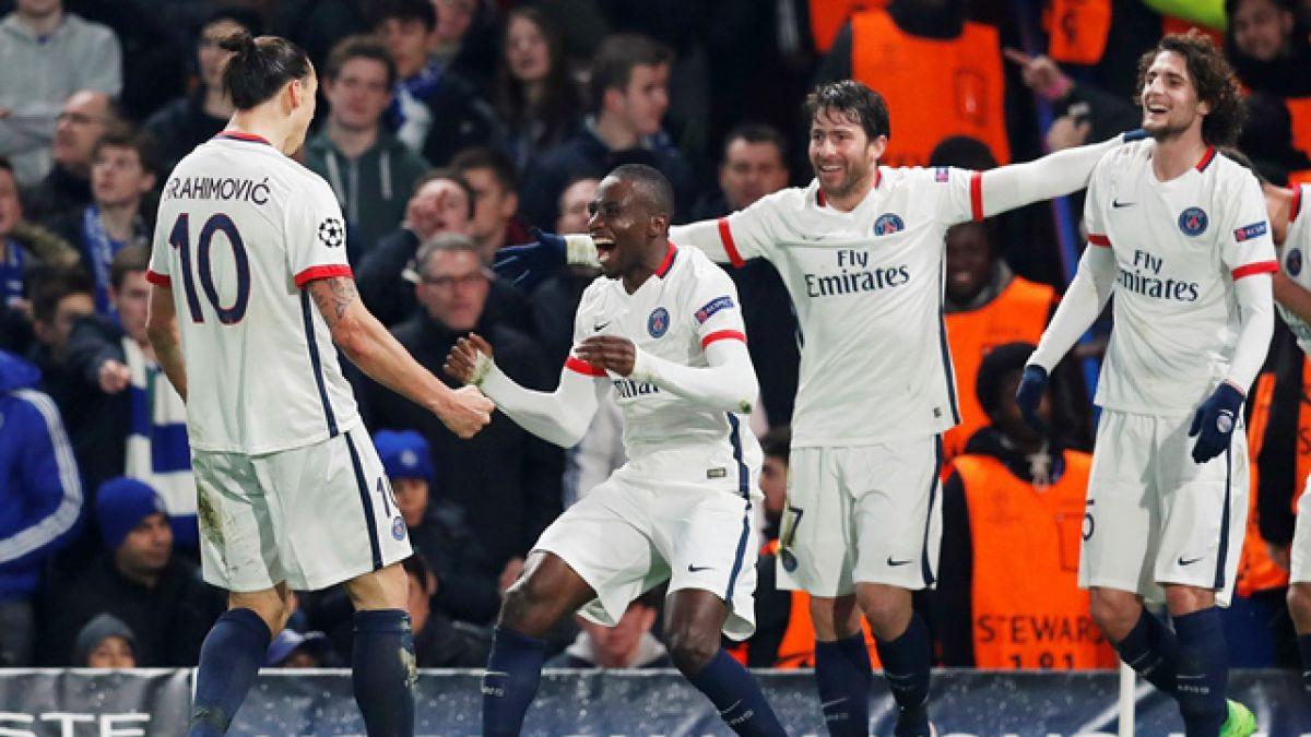 PSG supera como visita al Chelsea y se instala en cuartos de la Champions League