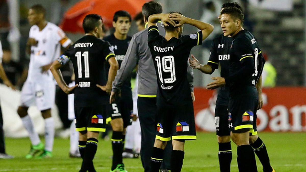 La falta de finiquito le pasó la cuenta a Colo Colo: los números del partido ante Atlético Mineiro