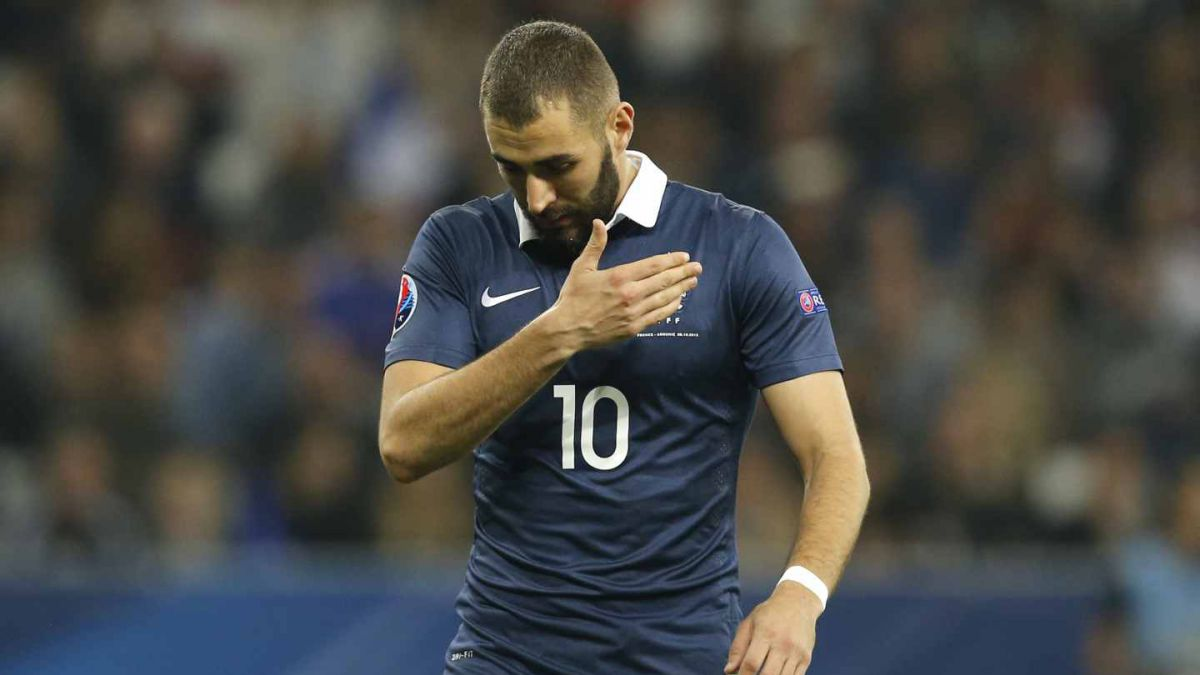 Benzema estará disponible para la Eurocopa 2016