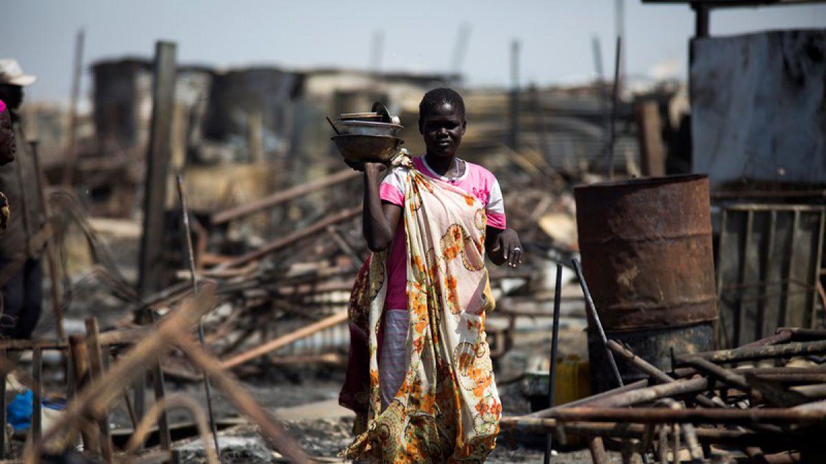 Sudán del Sur permite a combatientes violar a mujeres a modo de salario