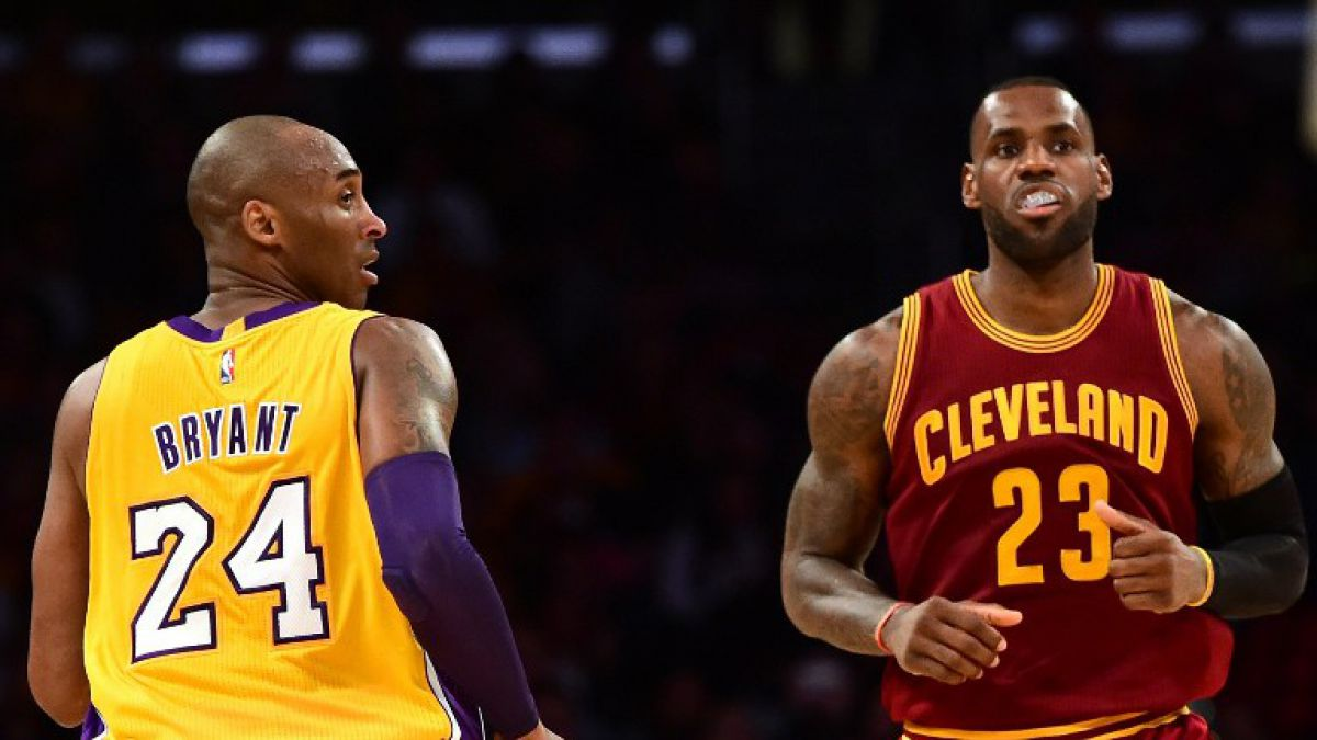 Kobe Bryant y LeBron James se midieron por última vez en la NBA