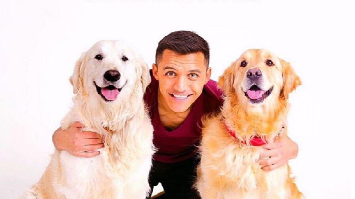 Alexis Sánchez sigue demostrando el amor hacia sus mascotas