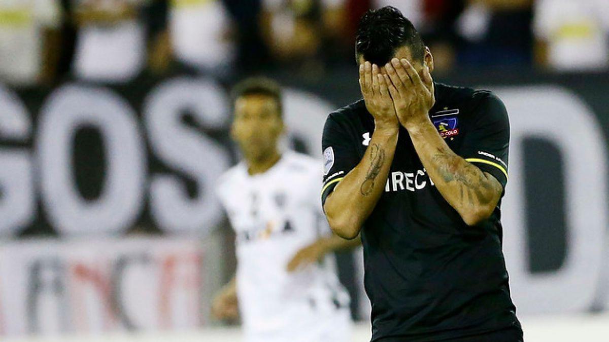 Malas noticias en Colo Colo: Paredes queda fuera del partido ante San Marcos y Atlético Mineiro