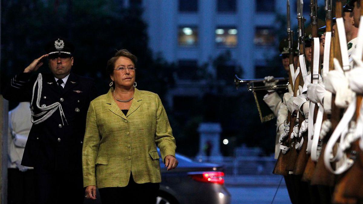 Bachelet por Imacec: Es una cifra mucho mejor de lo que se esperaba