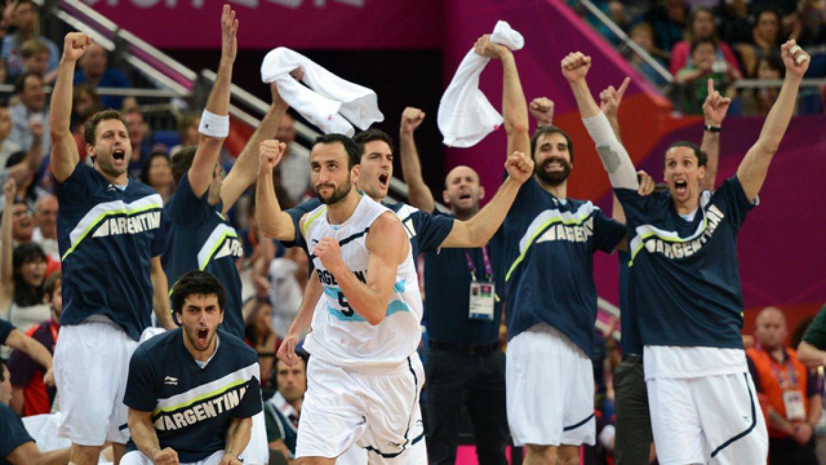 Argentina, Brasil y España compartirán grupo en el básquetbol masculino de Río 2016