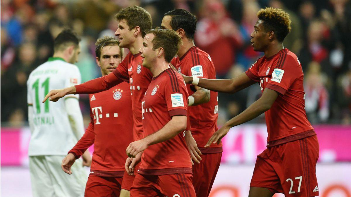 Vidal en la banca: Bayern Munich golea a Werder Bremen en la Bundesliga