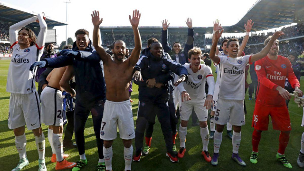 París Saint-Germain se corona campeón en Francia con arrolladora goleada