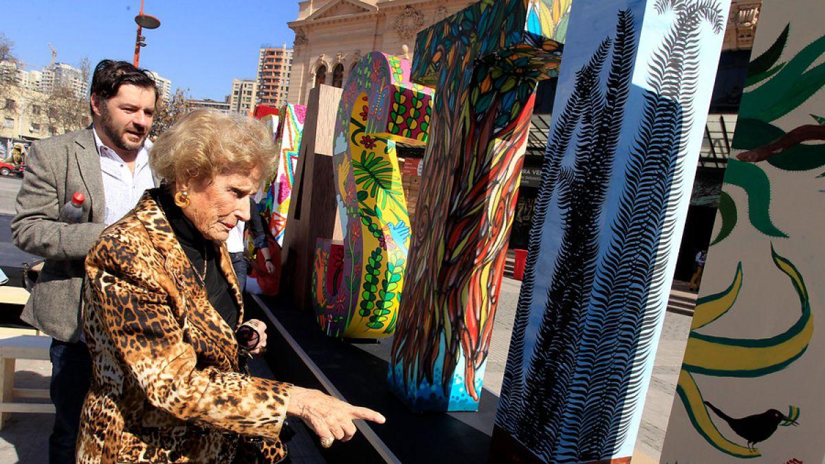 Julita Astaburuaga murió a la edad de 96 años producto de un cáncer de páncreas