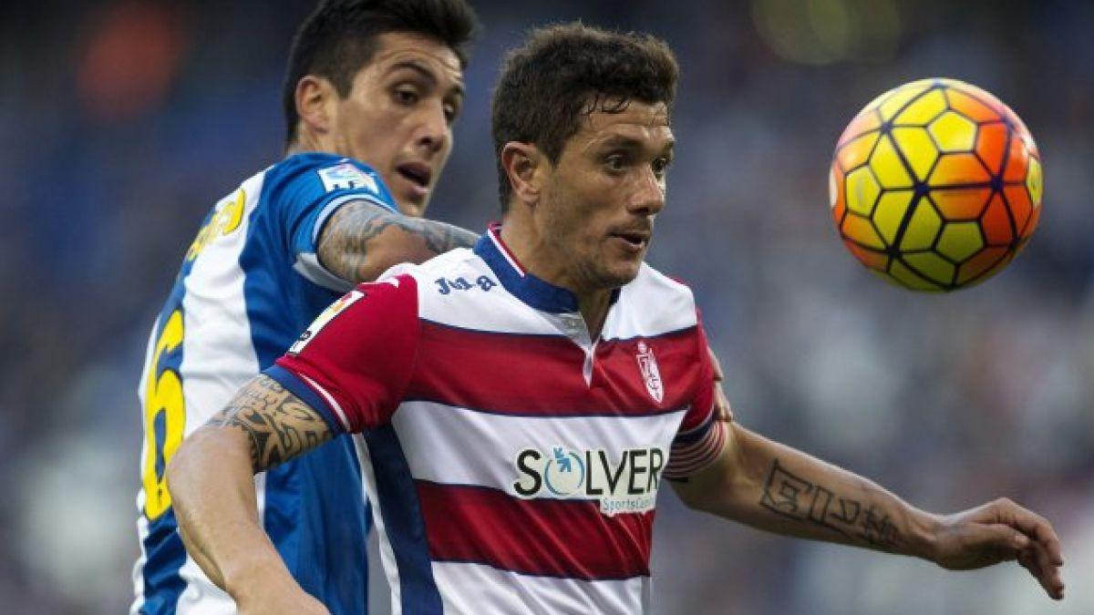 Enzo Roco junto al Espanyol logra valioso empate gracias a un autogol