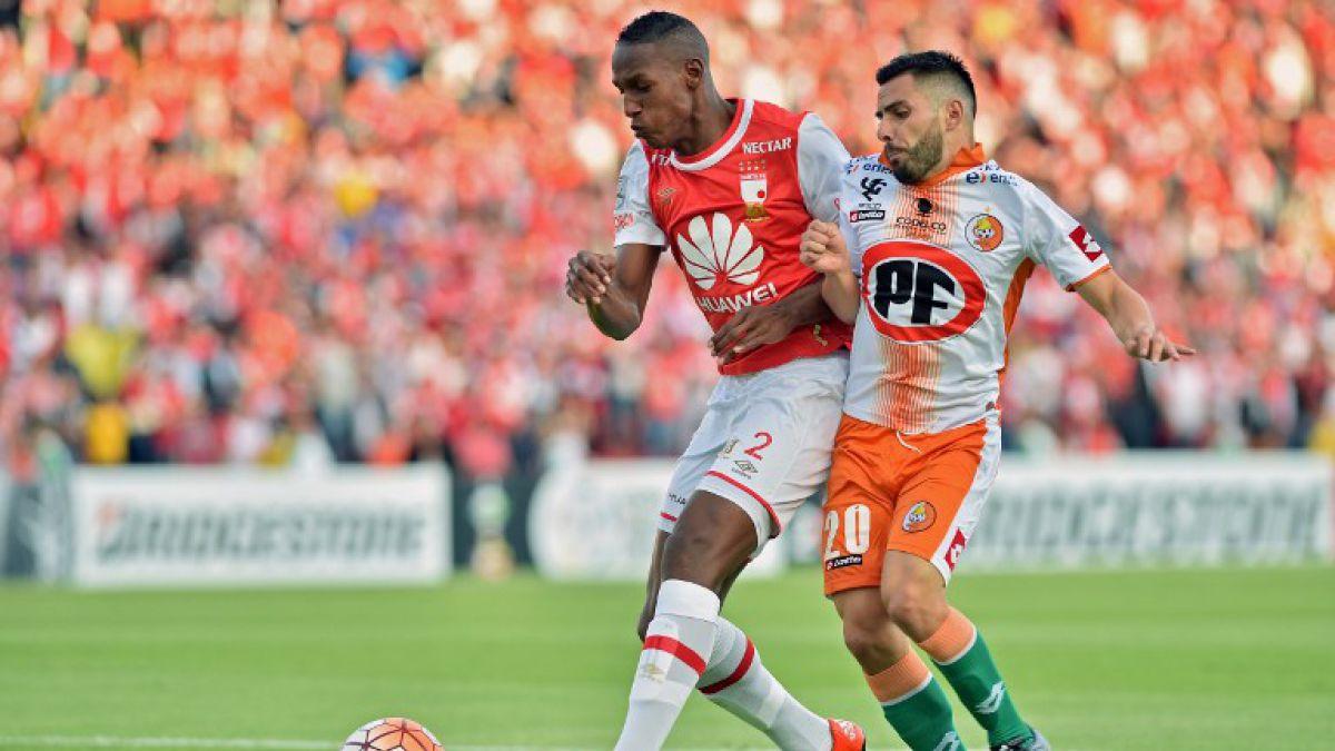 [Minuto a Minuto] Cobresal pierde ante Santa Fe en Colombia por Copa Libertadores