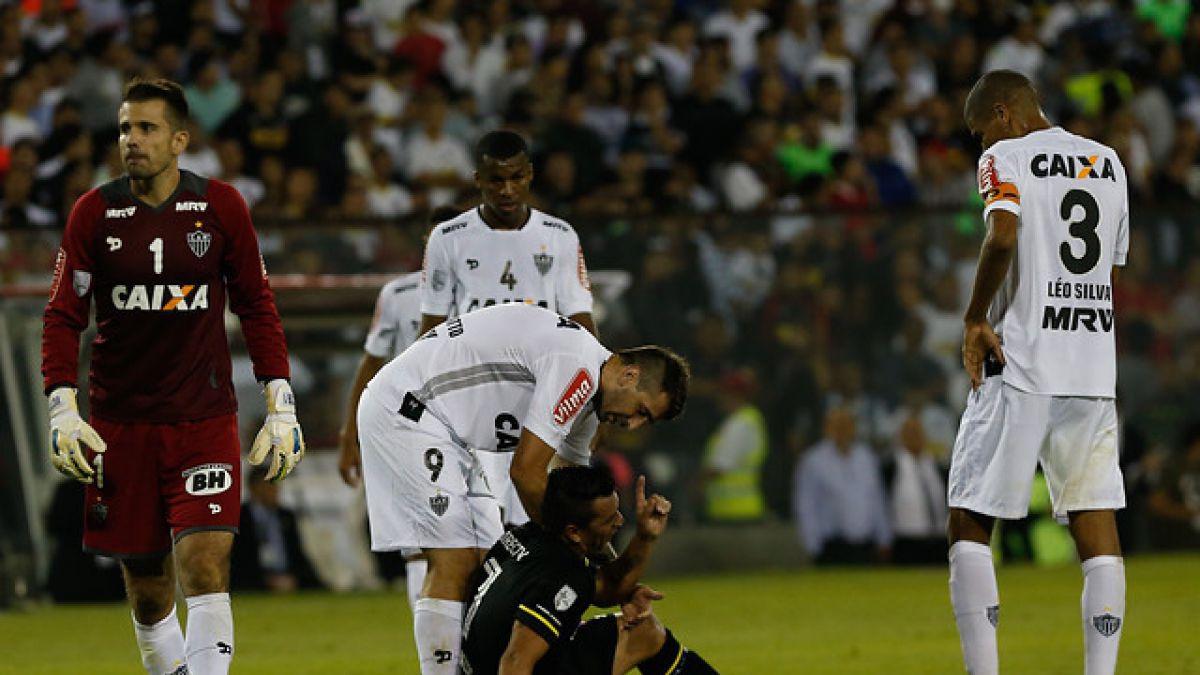 Atlético Mineiro pierde a su arquero titular para choque con Colo Colo en Copa Libertadores